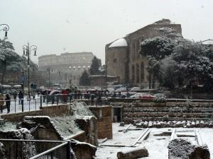 Colosseo skyline